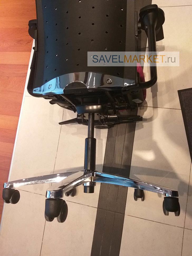 Ремонт офисного кресла мастером Савелмаркет, замена газлифта