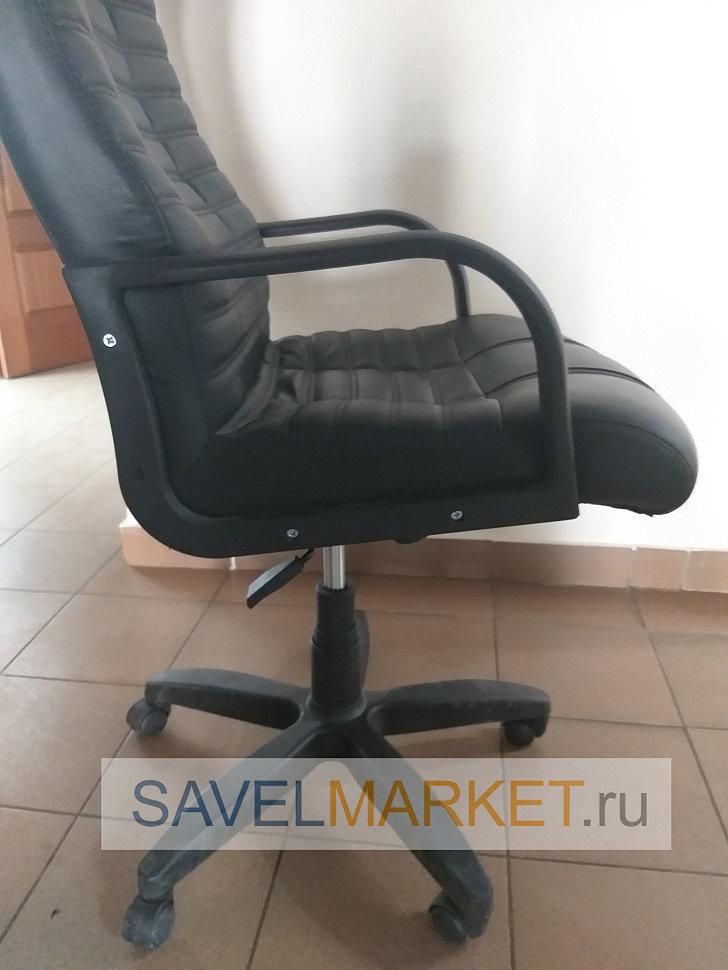 Мастер Савелмаркет отремонтировал кресла в офисе