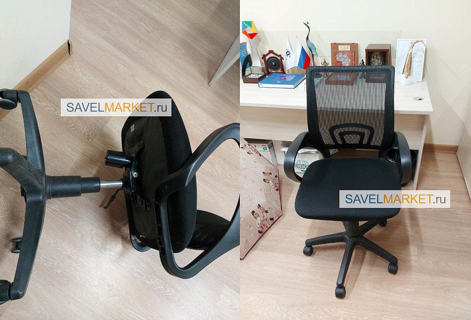 Ремонт кресла для ООО Ассоциация юристов России - замена Топ-гана 150х200