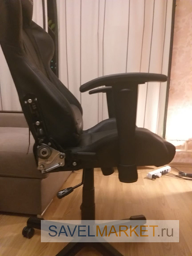 Замена газлифта на игровом кресле DXRacer