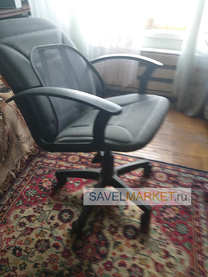 Ремонт офисного кресла, замена механизма пиастра, Savelmarket.ru