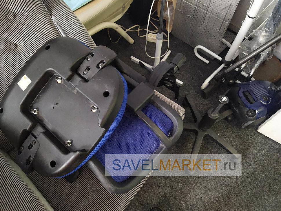 Ремонт кресла Бюрократ CH-797, замена платформы (пиастры)