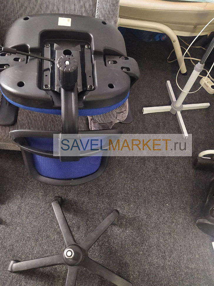 Ремонт кресла Бюрократ CH-797, срочный ремонт Savelmarket.ru, запчасти для ремонта