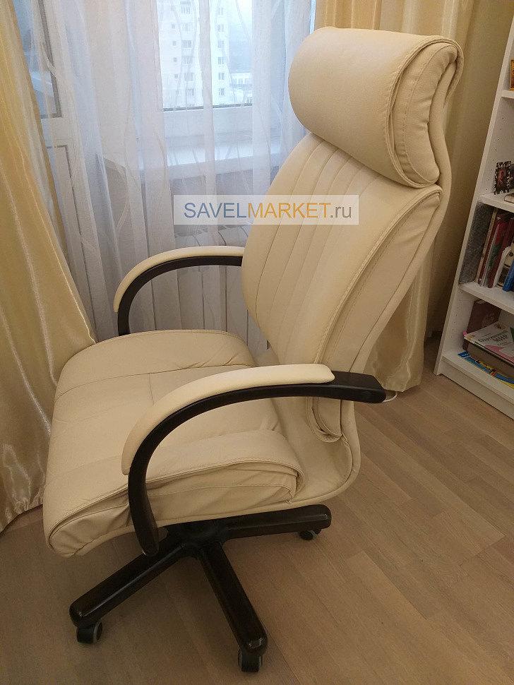 Ремонт компьютерного кресла на дому, замена газлифта и Топ-гана G005 LUX