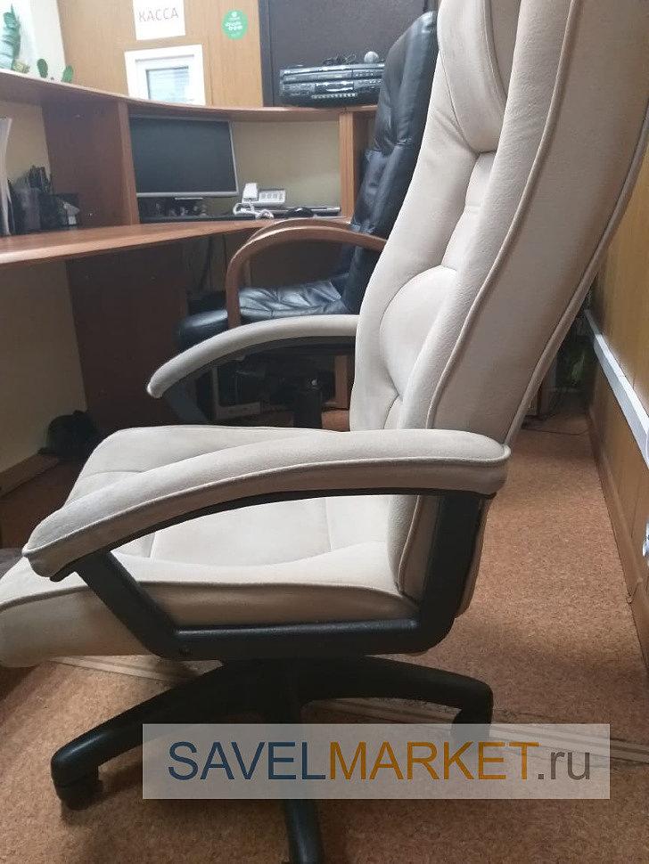 ремонт компьютерного кресла, газлифт стал опускаться