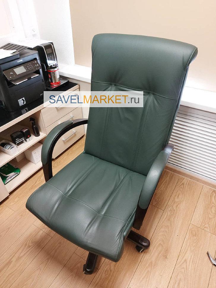 Ремонт кожаный и компьютерных кресел в офисе, выезд мастера, замена газлифта, Savelmarket.ru