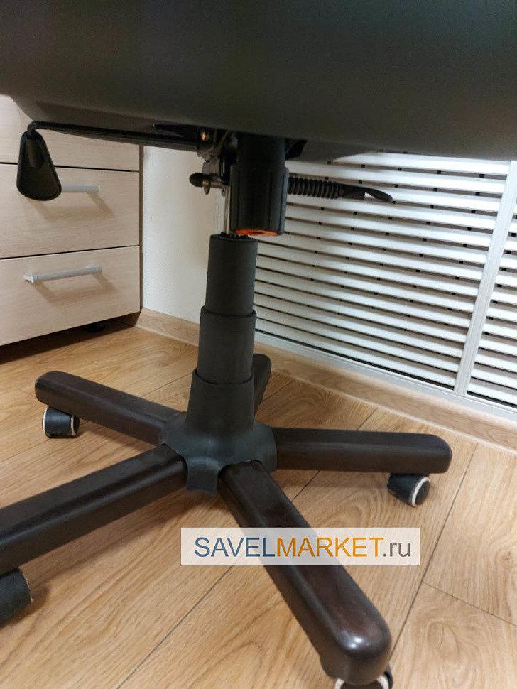 Сломалось компьютерное кресло в офисе, магазин запчастей для кресел рядом с метро Савеловская, Savelmarket.ru