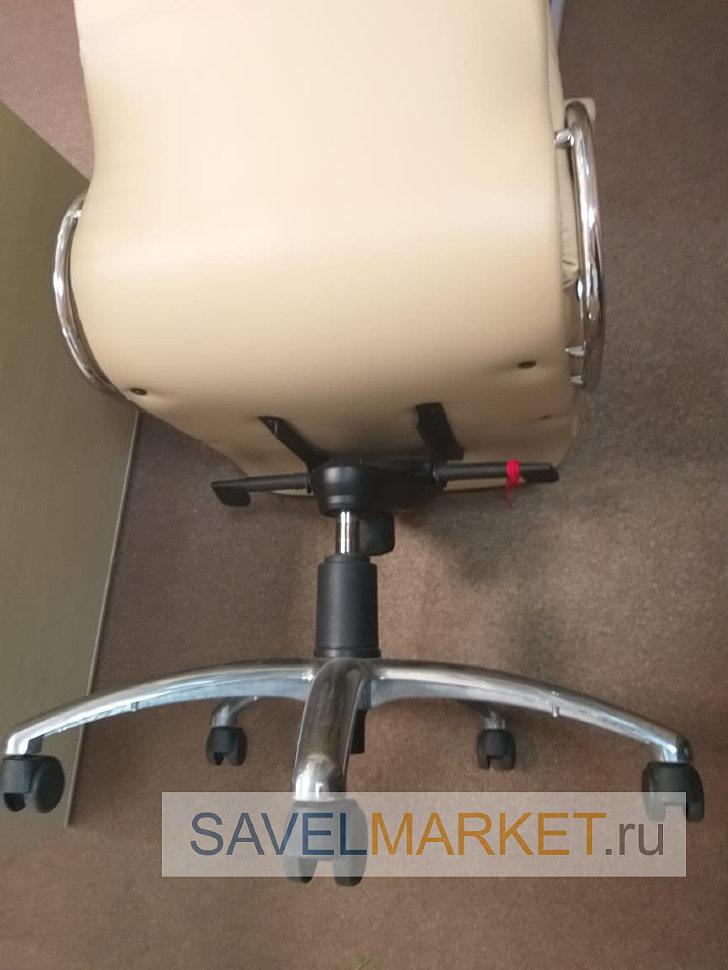 Газлифт зауженым конусом на кресле под замену