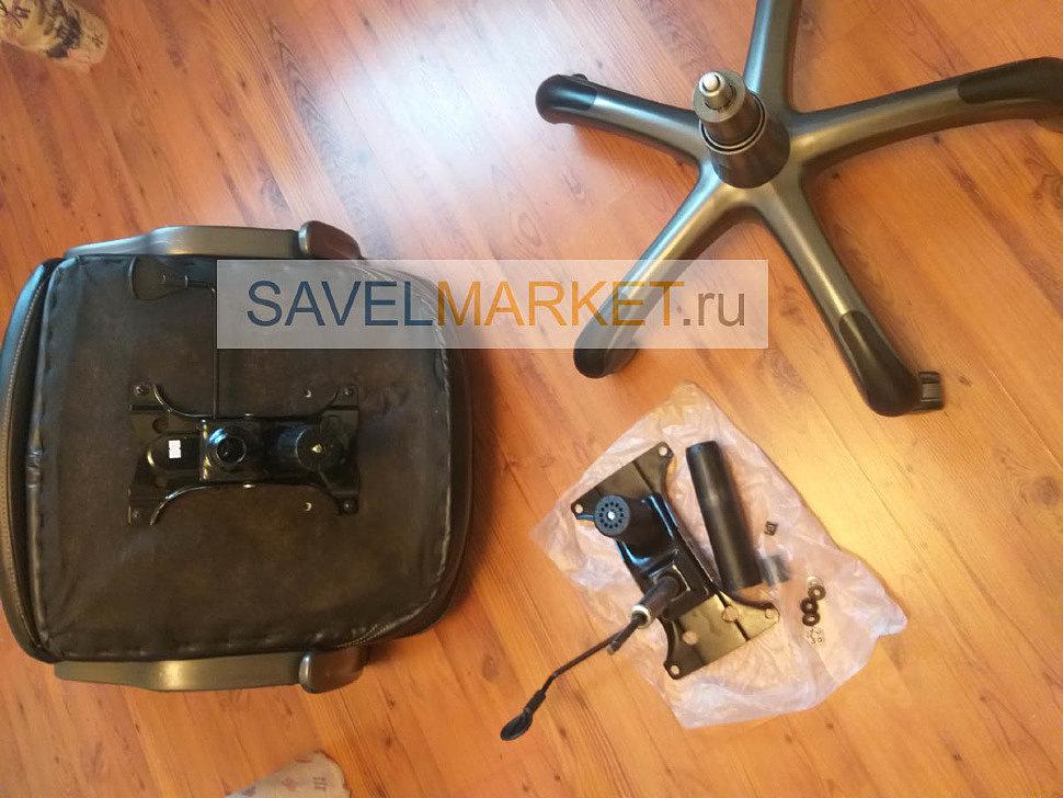 Мастер Savelmarket.ru ремонтирует компьютерное кресло на дому