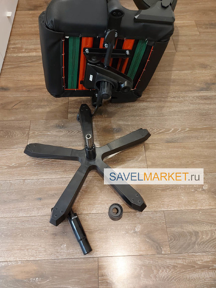Ремонт игрового кресла DXRacer в Москве - замена газлифта Stabilus Германия