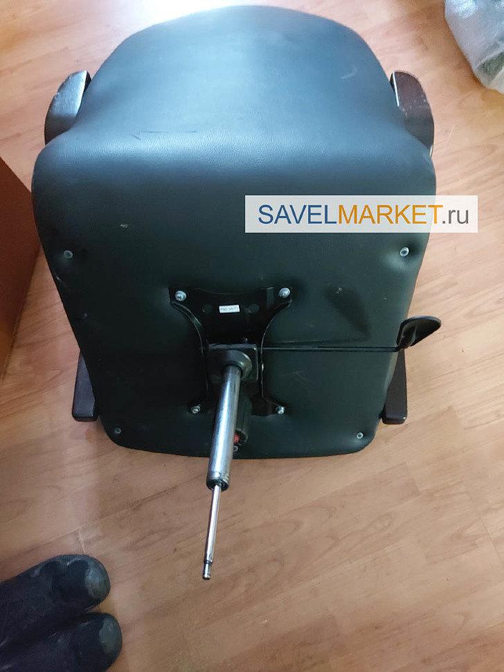 Ремонт кресла в офисе АО ЦПФ МГТУ - На кресле сломалась металлическая профильная крестовина с деревянными накладками - отломился один луч и перестал работать газлифт.