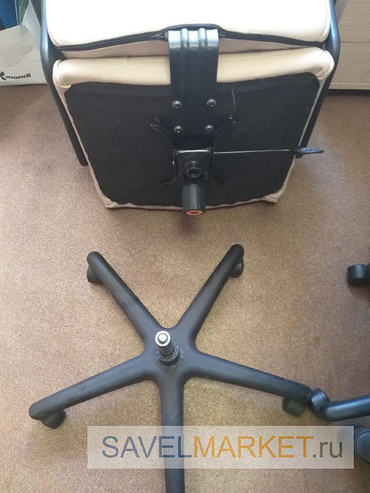 На кресле сломался газлифт