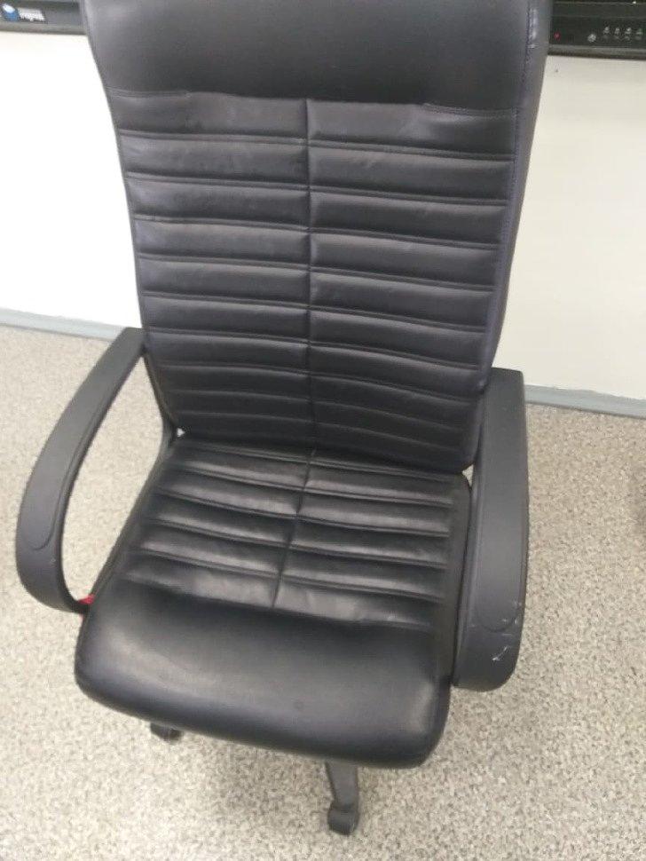 Ремонт кожаного кресла