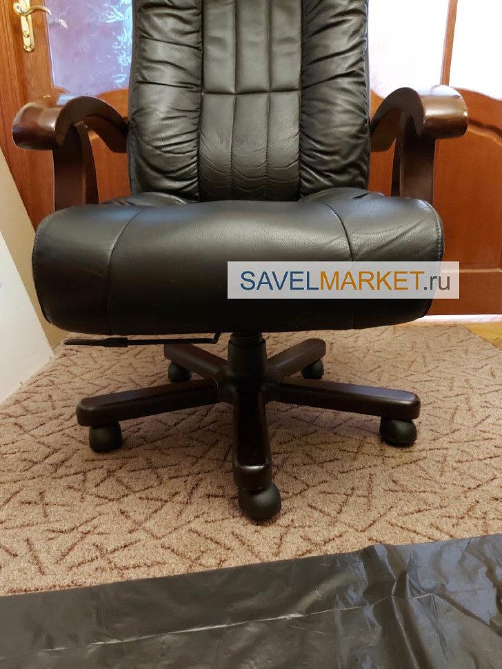 Где и как отремонтировать большое кожаное кресло в Москве - вызов мастера на дом в офис, Savelmarket ru