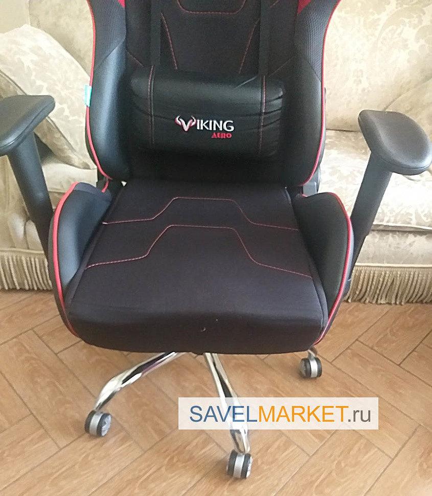 Ремонт геймерского кресла Viking - замена газлифта на усиленный Stabilus Германия, вызвать мастера - Savelmarket ru