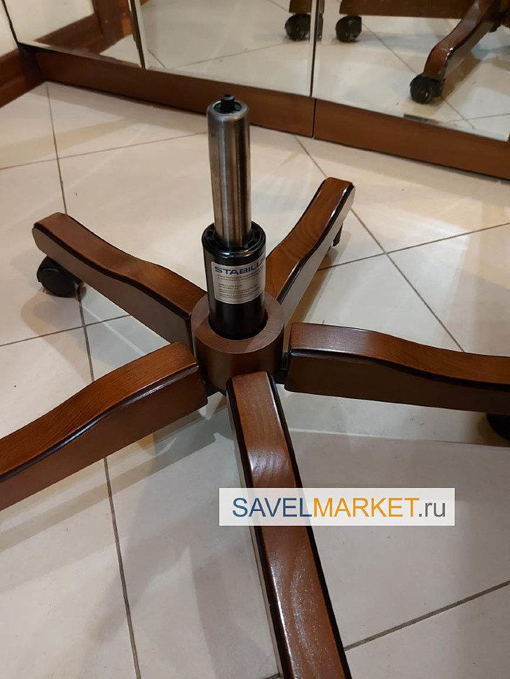 Ремонт компьютерного кресла, замена газлифта Stabilus - вызвать мастера на дом, в офис в день обращения, Запчасти для ремонта офисных кресел - Savelmarket ru