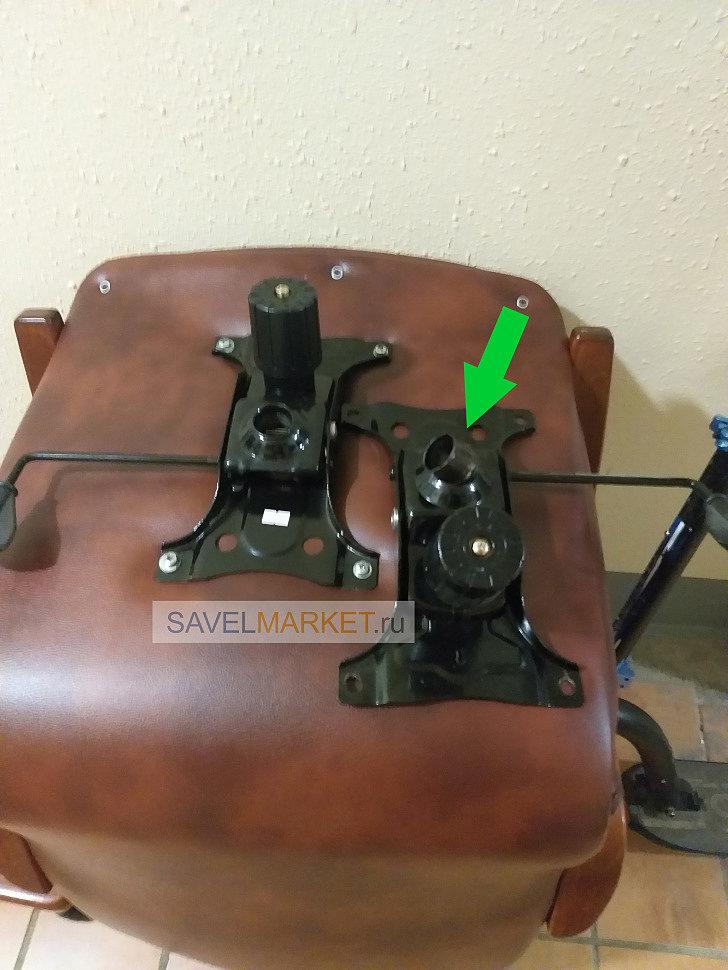 Ремонт кресла, на Топ-гане сломался стакан куда вставляется газлифт