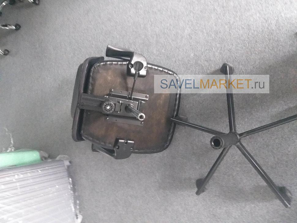 Ремонт компьютерного кресла, замена газлифта, Савелмаркет
