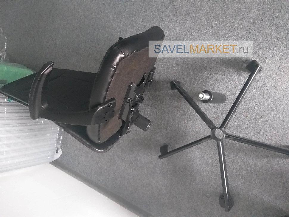 Ремонт офисного кресла, замена газлифта 140 / 240