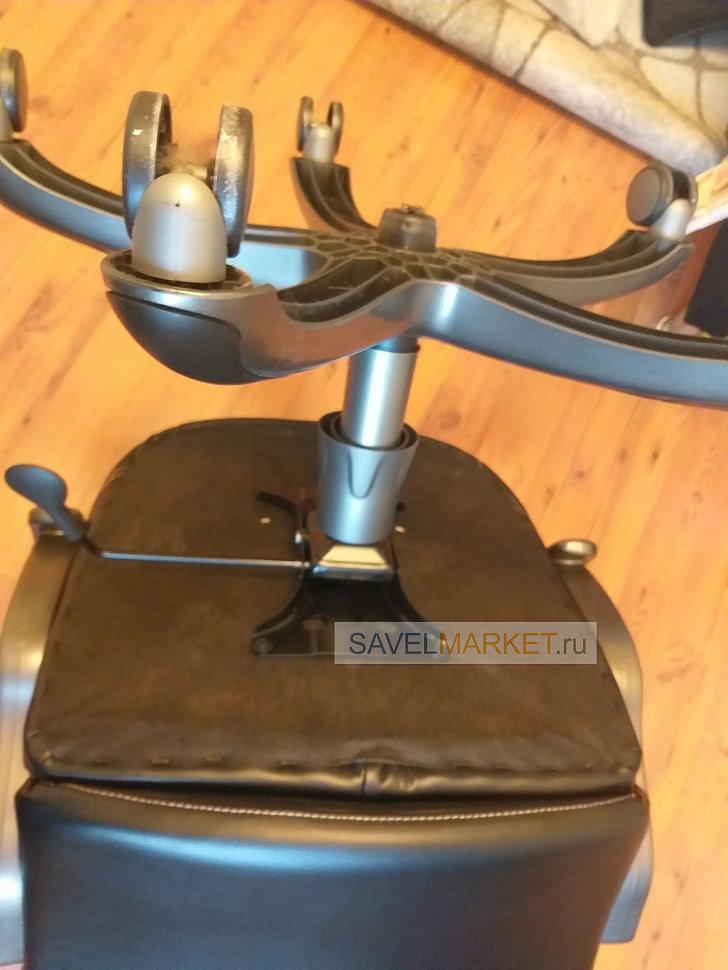 Замена газлифта на кресле руководителя Бюрократ CH-868AXSN