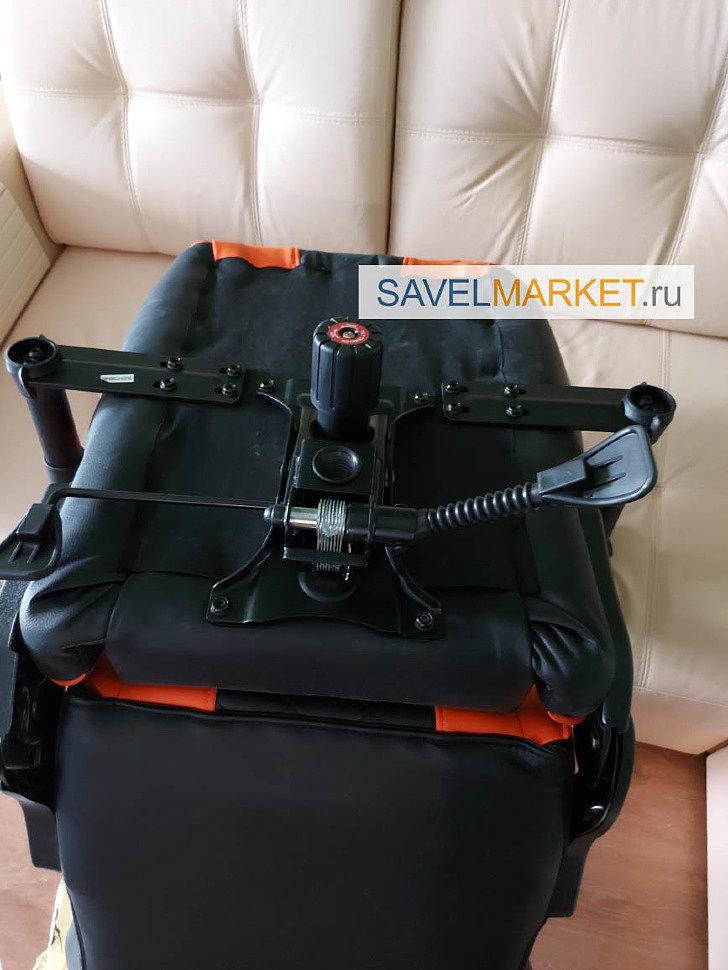 Ремонт игрового кресла ThunderX3 - замена механизма Топ-ган на G05 LUX, SavelMarket ru