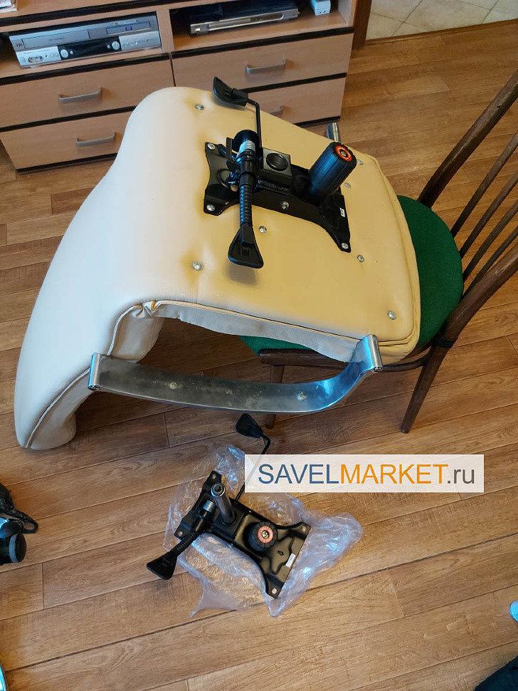 Усиленный механизм для компьютерного кресла Топ-ган LUX G005 - магазин запчастей для кресел рядом с метро Савеловская, Savelmarket ru