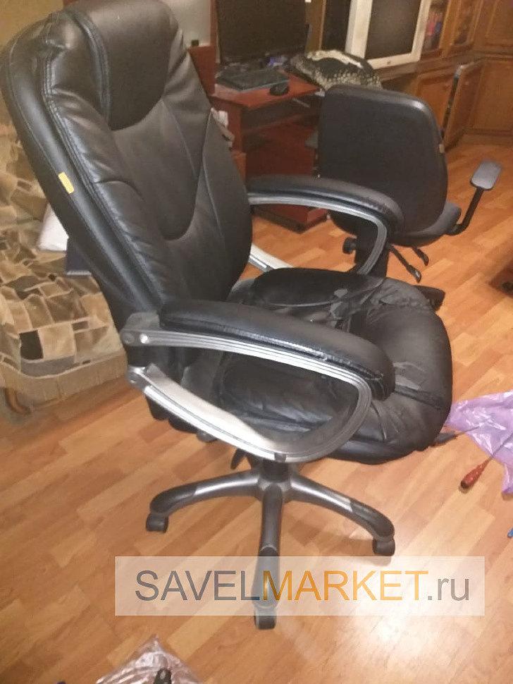 ремонт компьютерного кресла Chairman CH-668