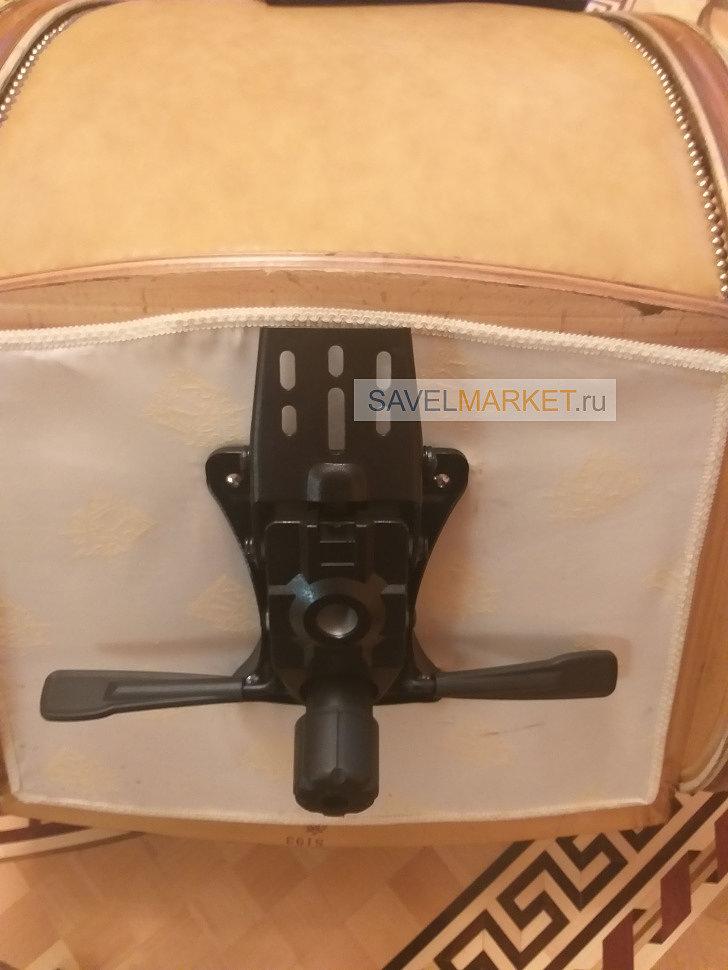 Ремонт кресла, замена усиленного механизма A05 150х200 на дорогом кресле