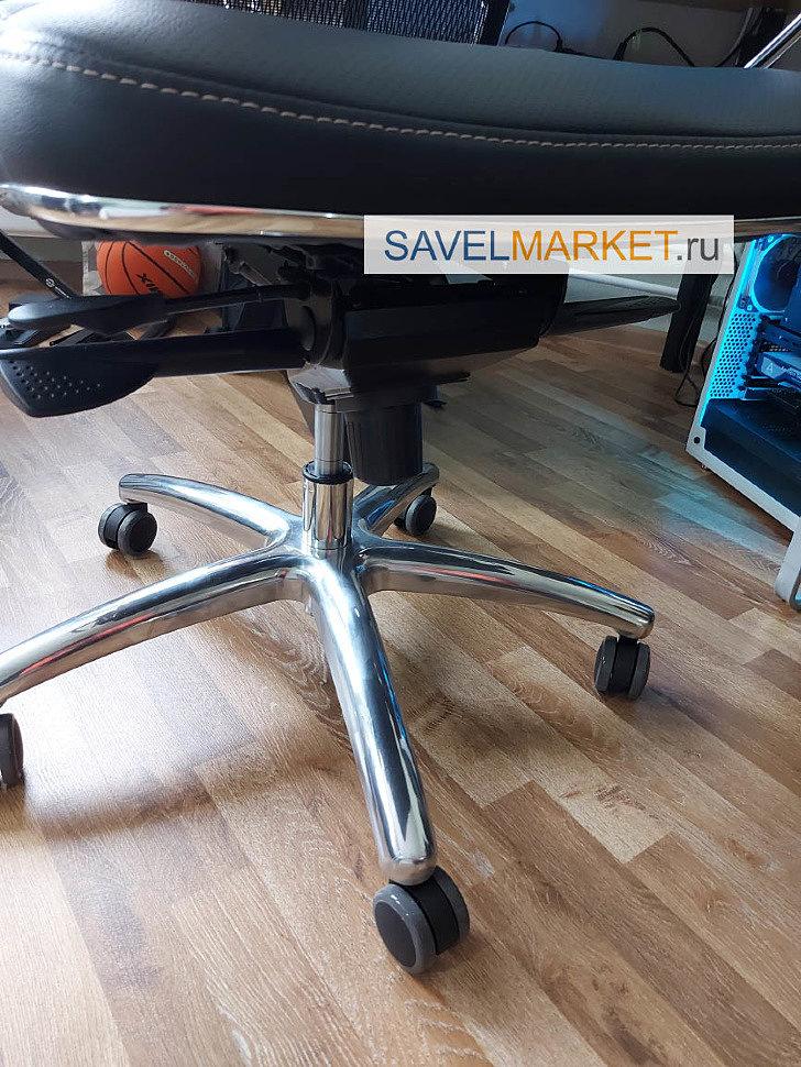 Сломался газлифт на кресле Метта - замена газлифта на усиленный Stabilus Германия, вызвать мастера - Savelmarket ru