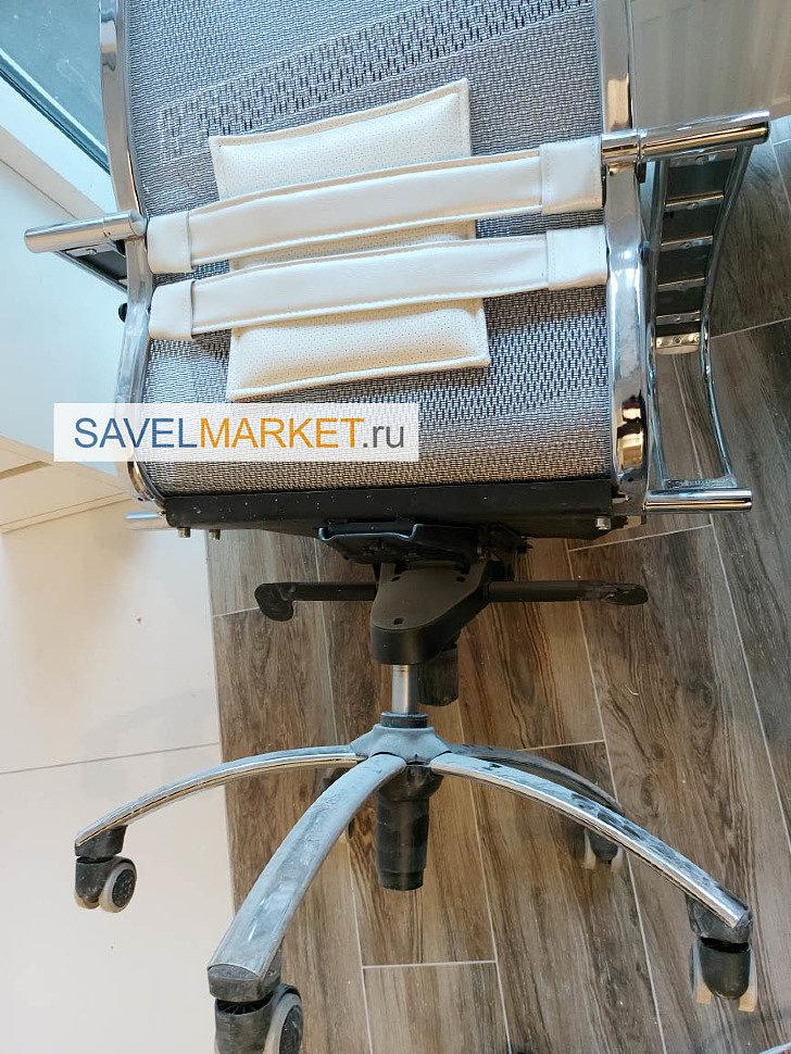 SavelMarket ru - В мастерскую SavelMarket поступила заявка на ремонт офисного кресла известного Уфимского производителя Метта Самурай Samurai