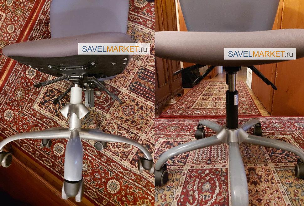 Ремонт кресла, замена газлифта на Stabilus Германия 140/240 4 класса, Savelmarket ru