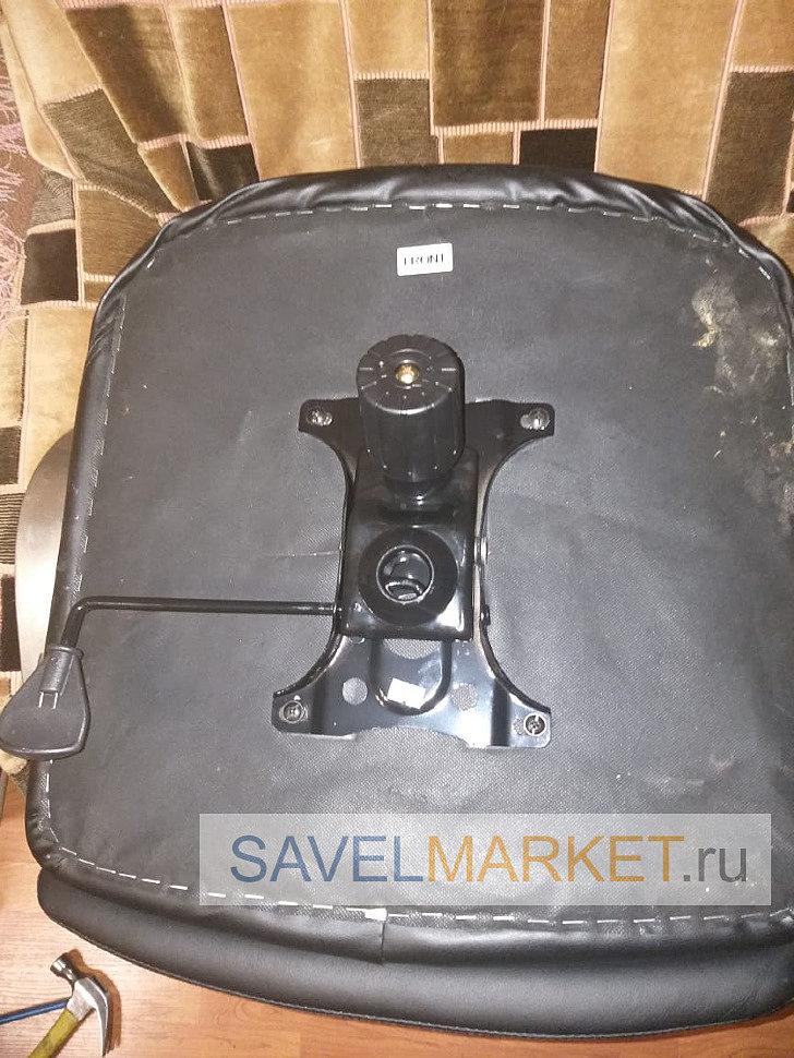 Установка нового механизма G008 на компьютерное кресло Savelmarket