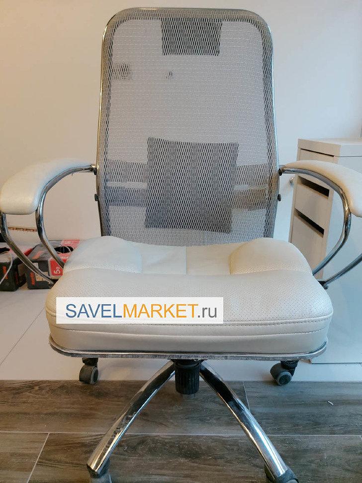 Сломалось офисное кресло - Ремонт кресла Самурай Samurai Metta - замена газлифта, SavelMarket ru