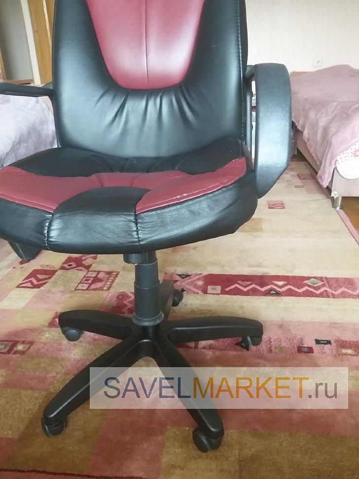 Отремонтированное кресло мастером Савелмаркет