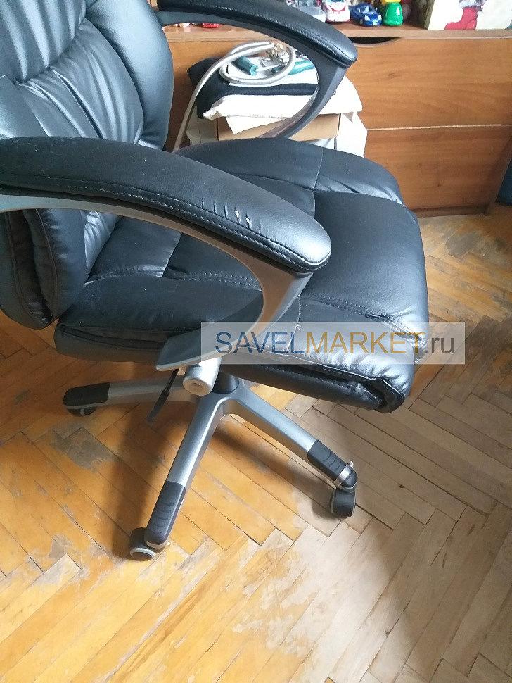 Ремонт компьютерного кресла - замена крестовины (пятилучья)