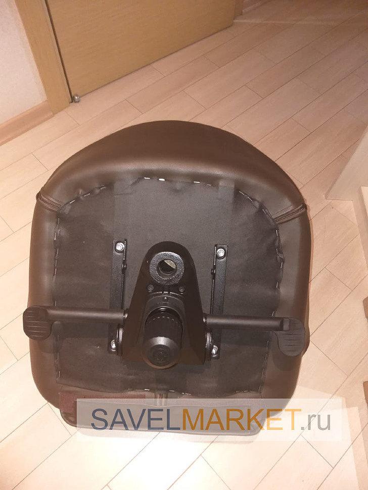 Демонтаж нерабочего газлифта на кресле мастером Савелмаркет