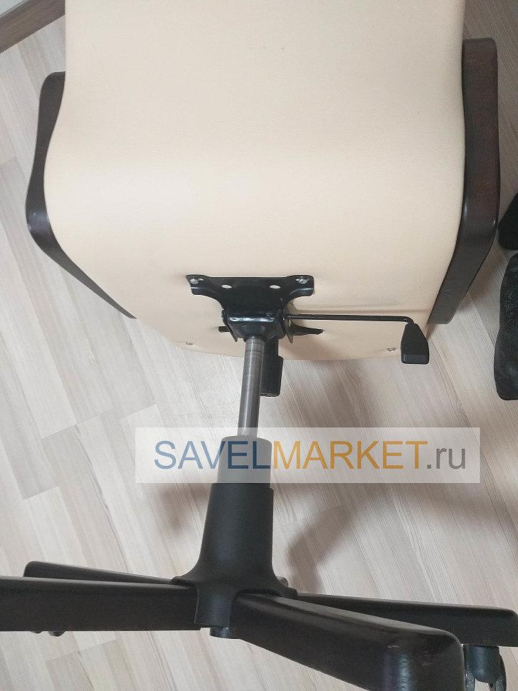 Ремонт кожаного компьютерного кресла на дому