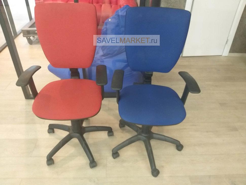 Мастер Савелмаркет отремонтировал кресла в офисе в Москве, заказать ремонт кресел