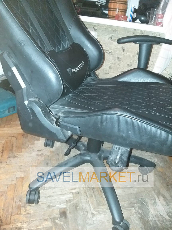 Замена механизма Топ-Ган на игровом кресле Thunder X3