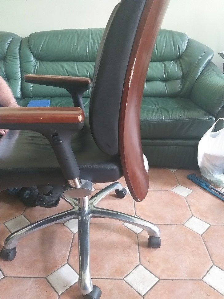 Мастер отремонтировал компьютерное кресло, заменил газлифт, Савелмаркет савеловская