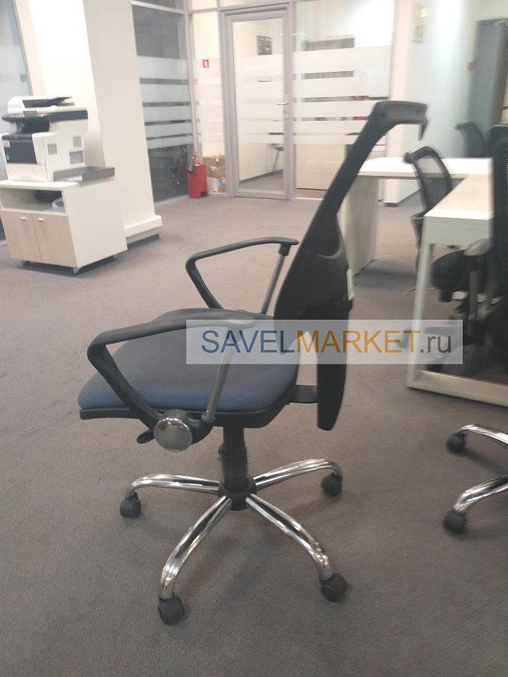 Поломалось офисное кресло, ремонт