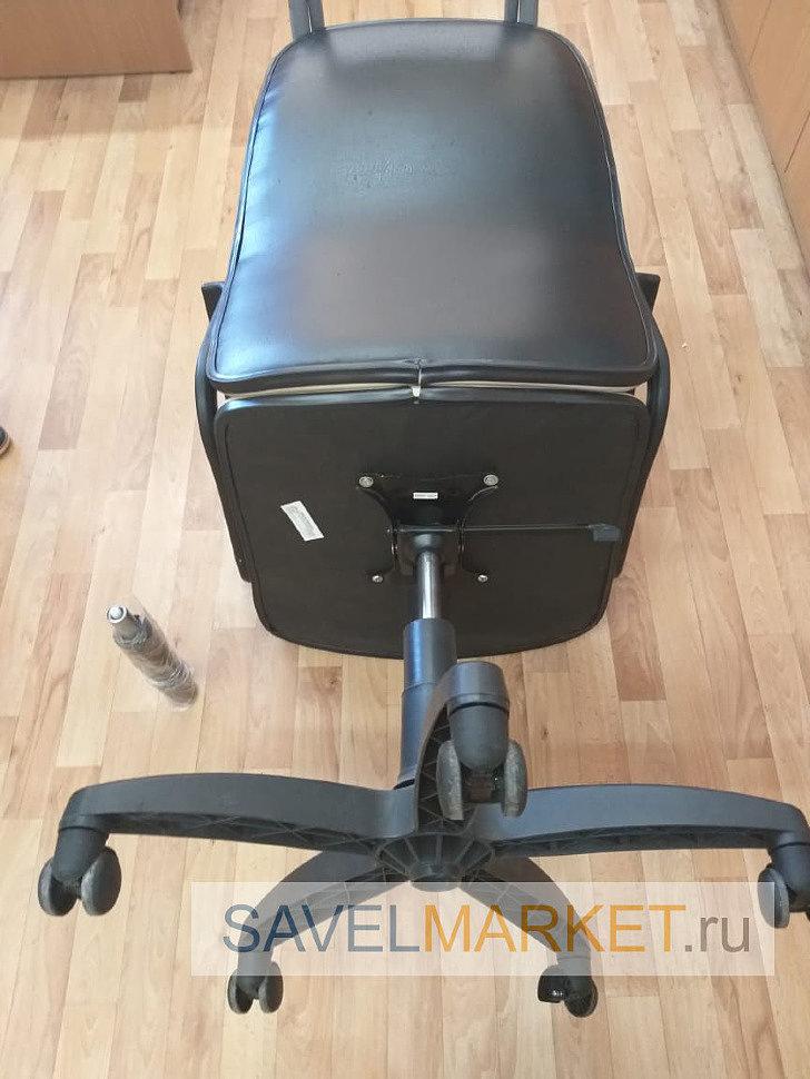 Сломалось колесо офисного кресла