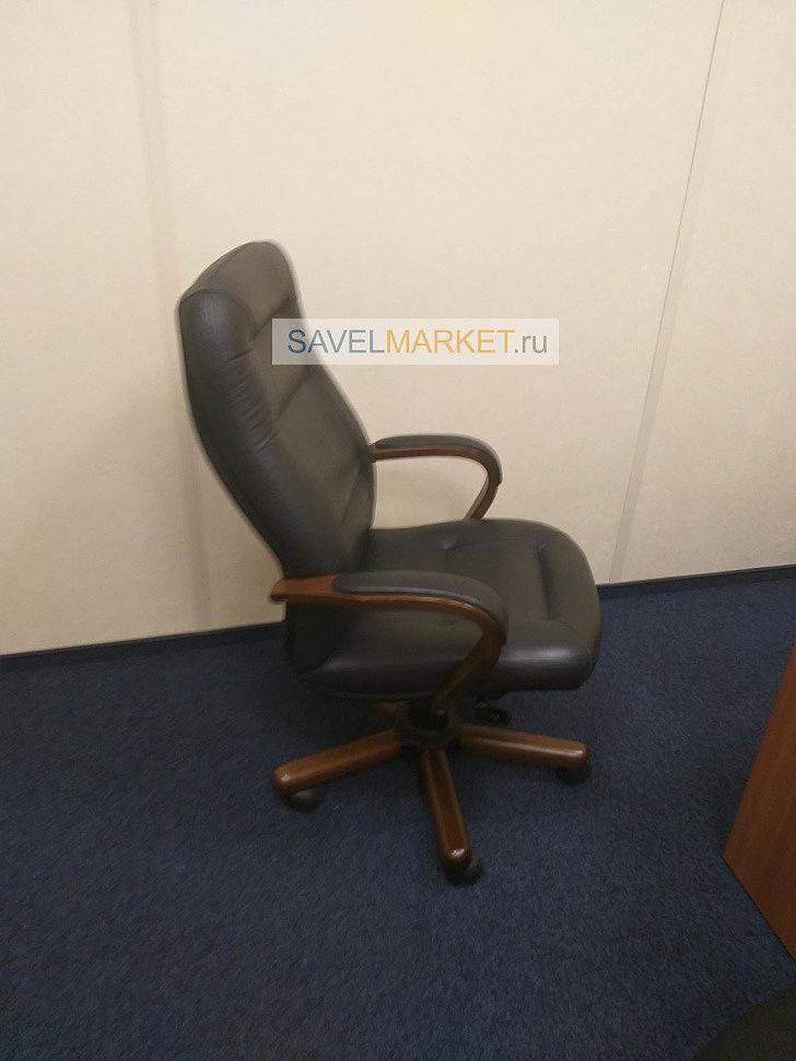 Ремонт двух кожаных кресел в офисе ГК- Фонд содействия реформированию ЖКХ