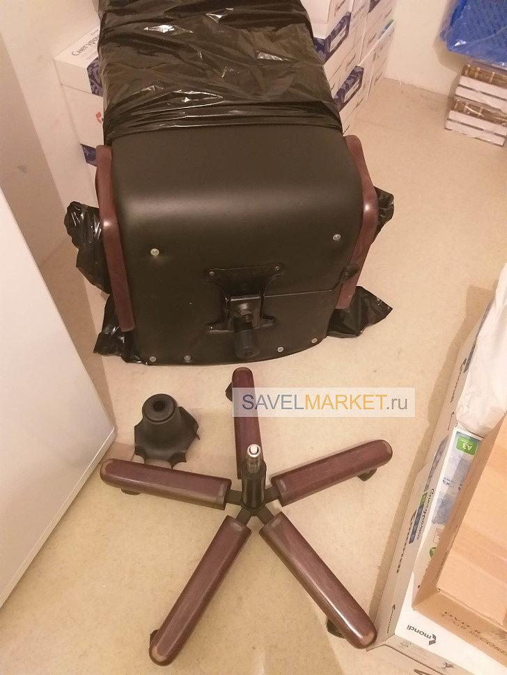 Ремонт компьютерного кресла, замена газлифта