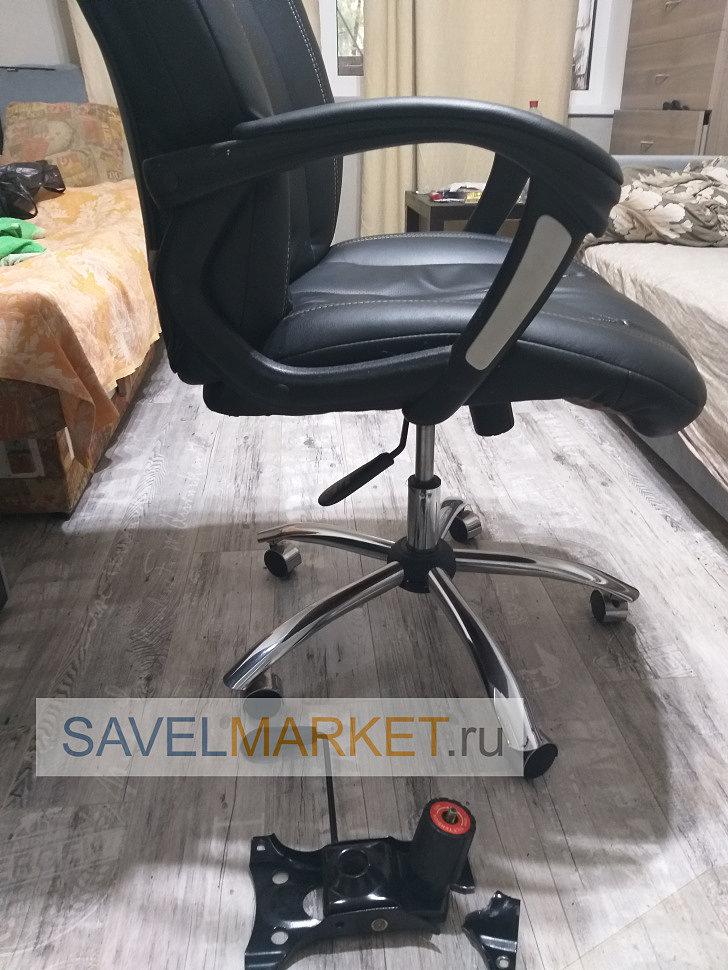 Отремонтированное кресло мастером SavelMarket