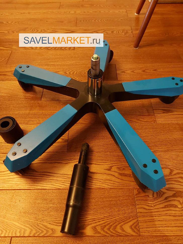 Замена газлифта на игровом кресле DXRacer - выезд мастера SavelMarket в Москве на дом или офис, оплата картой, по счету