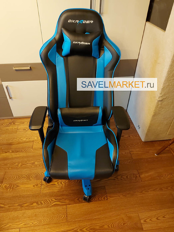 Ремонт игрового кресла DXRacer серии King - магазин запчастей для кресел рядом с метро Савеловская, Savelmarket ru