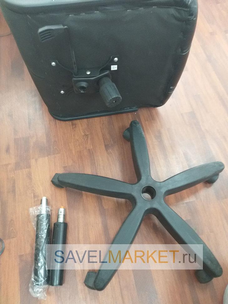Замена газлифта на кресле на более высокий