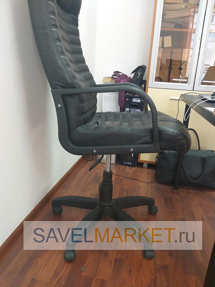 Мастер Савелмаркет отремонтировал кресло в офисе