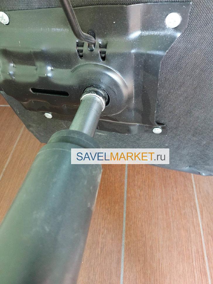 Ремонт компьютерного кресла в Москве - замена платформы пиастра 170х200мм Savelmarket ru